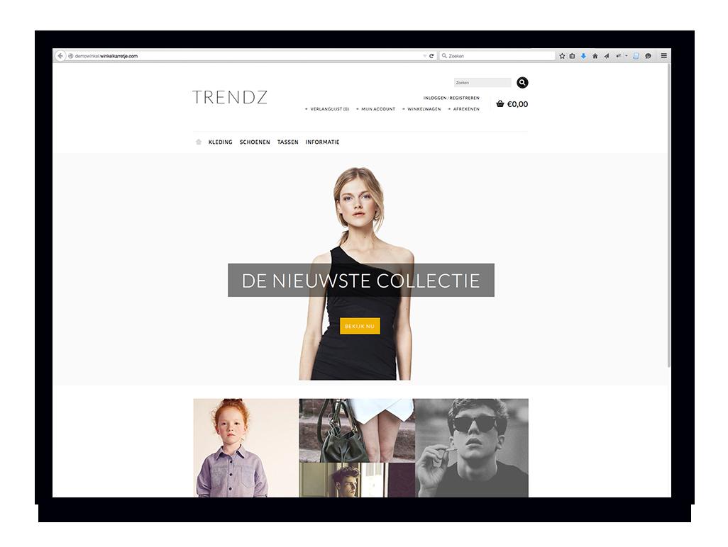 demo-webwinkel