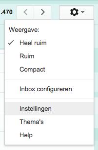 gmail-instellen
