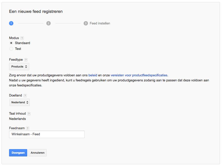 google-shopping-gegevens